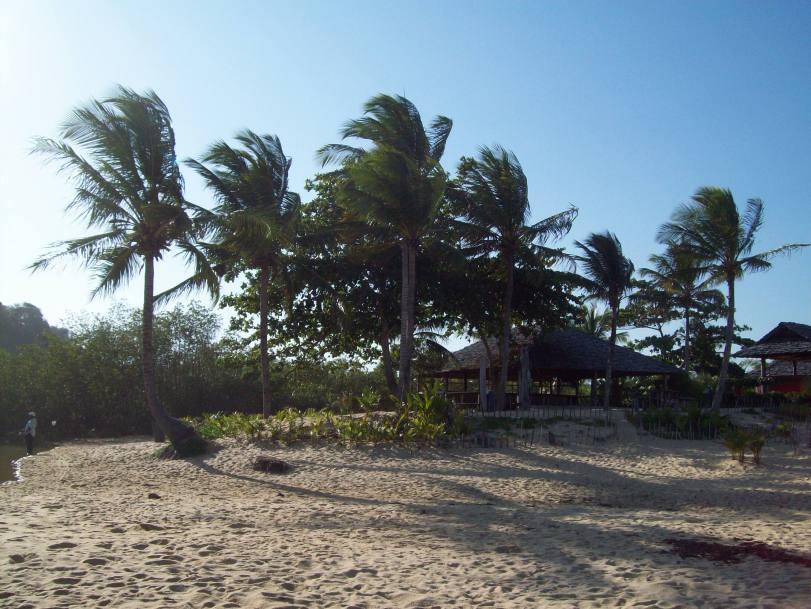 Não é uma visão paradisiaca? Este lugar é liiindo. É a Praia dos Coqueiros, em Trancoso. O vilarejo fica a uma hora de Porto Seguro.