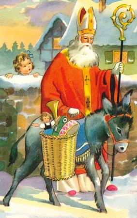 87ff7916a886 O Santo do Dia é muito amado pelos cristãos e deu origem à inúmeras lendas,  entre elas a do Papai Noel. De uma família rica, nasceu no ano 275, em  Pátara, ...
