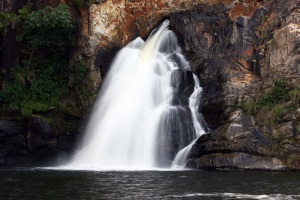 Na foto, vista da cachoeira Maria Augusta.