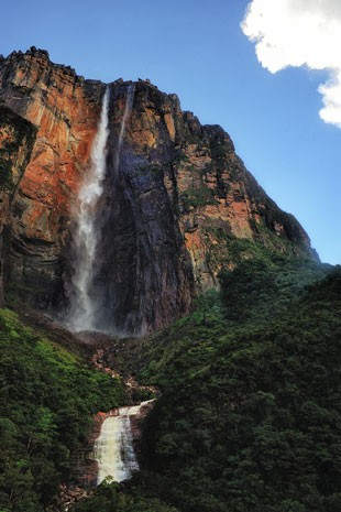 Catarata Salto Ángel ou  Kerepakupai Merú, nome indígena (Foto: divulgação)