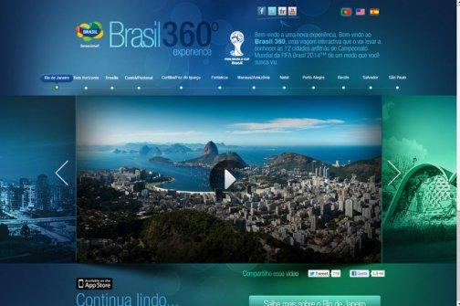 Foto do vídeo feito pela Embratur da cidade do Rio de Janeiro (Foto: divulgação)