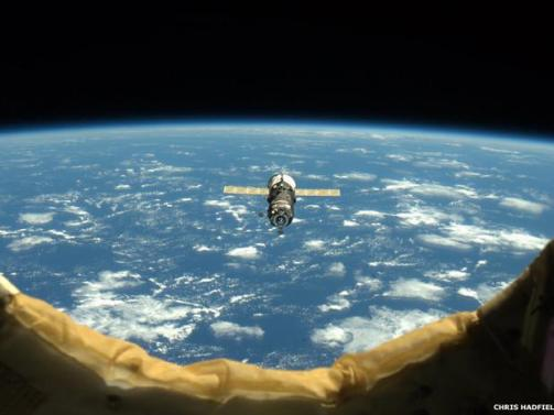 Terra vista do espaço (Foto: divulgação)