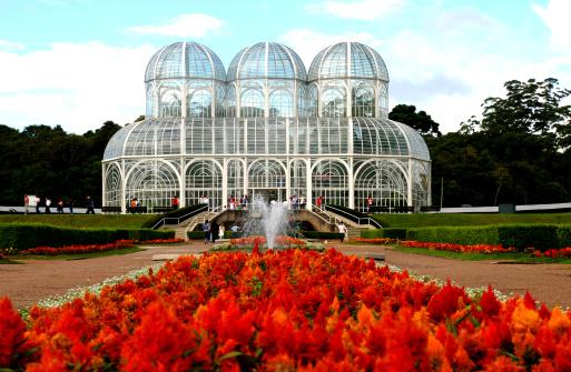 Jardim Botânico com o Palácio de Cristal ao fundo (Fonte: Gettyimages)