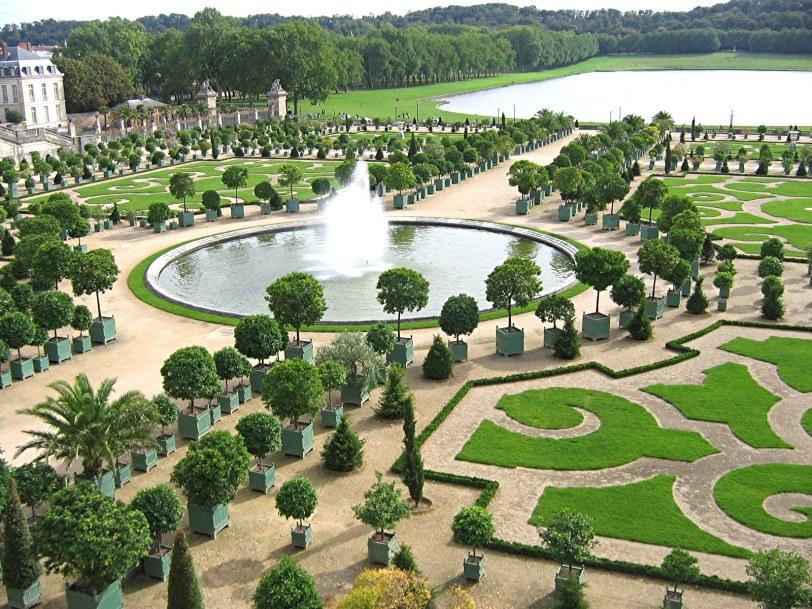 Jardim do Palácio de Versalhes na França (Fonte: Divulgação)