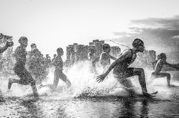 Aquathlon Brasil por Wagner (Fonte: National Geographic)