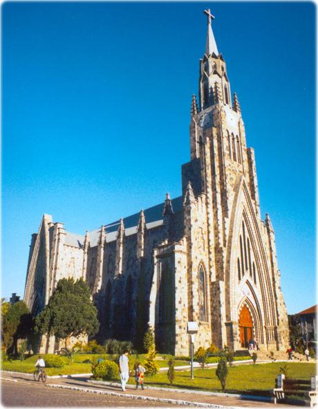 Catedral de Pedra de Canela (Fonte: Turismo RS)