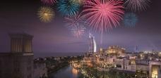 Queima de fogos de 2013 no Madinat Jumeirah em Dubai (Fonte: Divulgação)